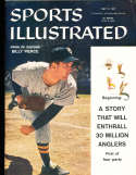 1957 5/13 Billy Pierce White Sox no label newsstand Sports Illustrated