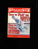 1936 Spalding How to play the infield Ty Cobb complete