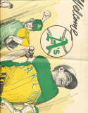 4/14 1968 Oakland Tribune welcomes A's sports section 19 pages!