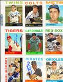 Tim Harkness Mets #57  Signed 1964 em Topps card