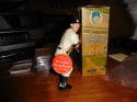 Mickey Mantle Yankees 1961 original mint Hartland with magnets  Tag &  box! nice clean copy