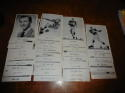 1956 new York Giants Photo packet 36 cards complete em/nm Frank Gifford  bxfto