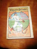 1911 Wright & Ditson's Baseball Guide - vg/ex 200 pages g6