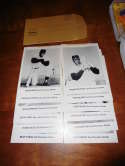 1963 San Francisco Giants 12 card photo Pack & envelope willie mays g6