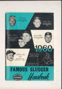 1960 Famous Slugger Yearbook em bxg6 Nelson Fox
