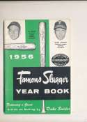 1956 Famous Slugger Yearbook em bxg6 al kaline Ashburn
