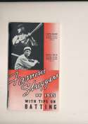 1935 Famous Slugger Yearbook nm bxg6