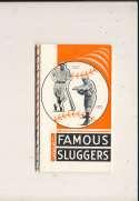 1933 Famous Slugger Yearbook em bxg6 Jimmie Foxx