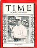 Jimmie Foxx A's 1929 Time Magazine ex-em  g6