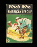 Who's Who in the American League 1935 Speed Johnson bxww