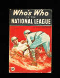 Who's Who in the National League 1935 Speed Johnson bxww