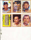 1962 Topps Signed Card #21 Jim Kaat Twins