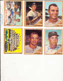 1962 Topps Signed Card 38 Gene Stephens A's