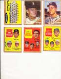 1962 Topps Signed Card 58 Joe Jay Jim Ottole Reds