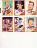 1962 Topps Signed Card 179 Tom sturdivant Pirates