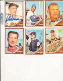 1962 Topps Signed Card #247 Joe Pignatano