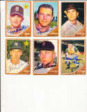 1962 Topps Signed Card 299 Don Wert Tigers