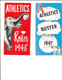 1947 Philadelphia Athletics Roster & guide