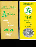 1967 Kansas City Athletics Press Guide