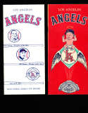 1962 Los Angeles angels Press Guide em