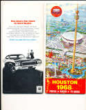 1968 Houston Astros Press Guide