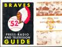 1964 Milwaukee Braves  spring training Guide  Aaron