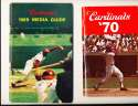 1969 St. Louis Cardinals Sketchbook Press Guide