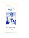 1957 Brooklyn dodgers Spring training player roster Guide