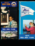 1973 New York Mets Press Guide