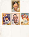 1962 Topps Signed Card 435 Larry Sherry Dodgers