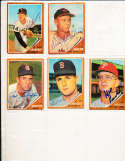 1962 Topps Signed Card 581 Mel Roach Phillies