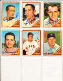 1962 Topps Signed Card 568 Jim Golden Colts