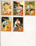 1962 Topps Signed Card 541 don Nottebart Braves