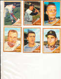 1962 Topps Signed Card 525 George Thomas Angels
