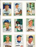 1951 Bowman Signed Card 120 Joe Coleman A's