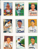 1951 Bowman Signed Card 179 Danny Litwhiler Reds