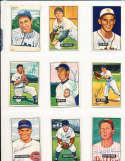1951 Bowman Signed Card 212 Bob Rush Cubs