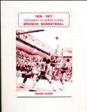 1976 Santa Clara Basketball Media Press Guide Kurt Rambis