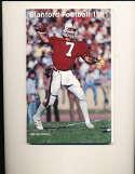 1981 John Elway Stanford Football Media Press Guide
