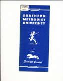 1957 SMU Southern Methodist University Football Media Press Guide