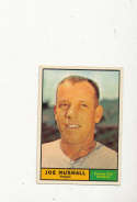 1961 Topps vintage signed 444 Joe Nuxhall a's