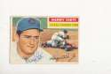 1956 Topps vintage signed 179 Harry Chiti Cubs ex