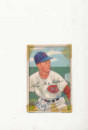 1952 bowman vintage 238 Roy McMillan Reds signed tape
