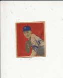 1949 bowman signed vintage 51 Lou Brissie Athletics gd