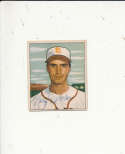 1950 bowman signed vintage 252 Billy Demars browns