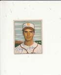 1950 bowman signed vintage 252 Billy Demars browns