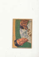 1952 bowman signed vintage 49 Jim Hearn Giants vg
