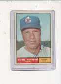 1961 Topps vintage signed 88 Richie Ashburn Cubs vg (back)