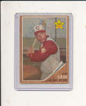 1962 Topps vintage signed 41 Cliff Cook Reds