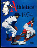 1954 Philadelphia Athletics Baseball Yearbook ex/em bxb1